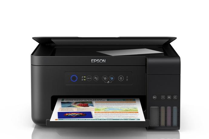 Impresora Multifuncional EPSON EcoTank Epson L4150, Tinta Continua, WiFi