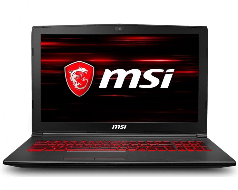 Notebook MSI Gamer GV62 8RD-259MX Ci7 8GB 1TB+128SSD GTX1050 WIN