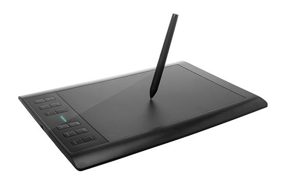 Tableta Huion H1060P Only Pen, 12Teclas, Large 25x15.88Cm