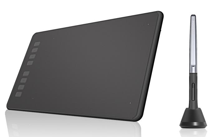Tableta Huion H950P Only Pen 8 Teclas, Medium 22x13.80cm