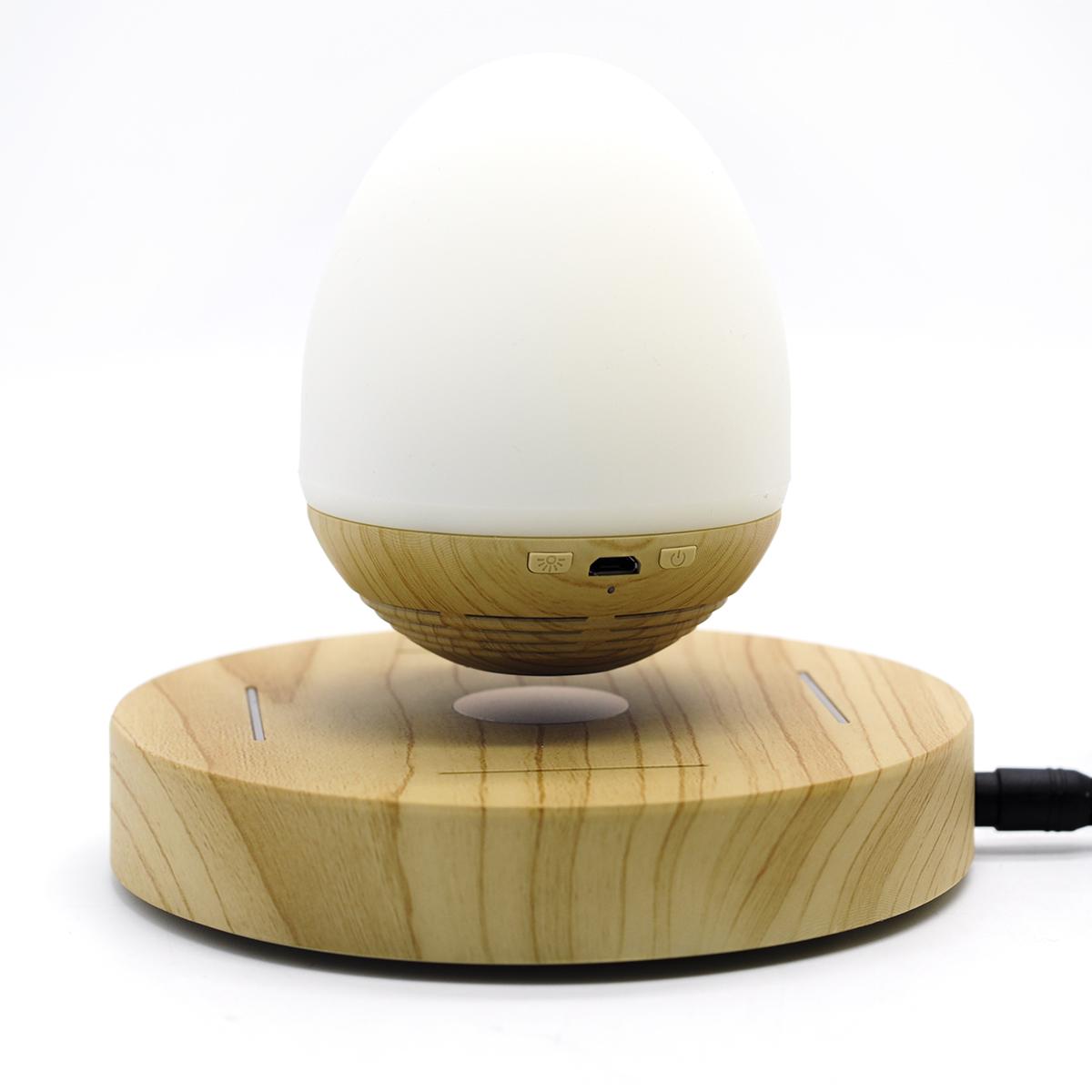 Parlante Bluetooth y Lámpara LED de Levitación Magnética CXF-01