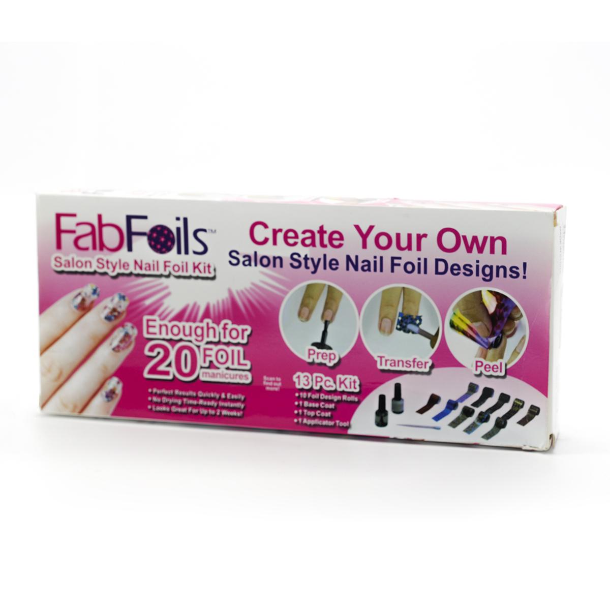 Fab Foils Salón de Belleza para Uñas