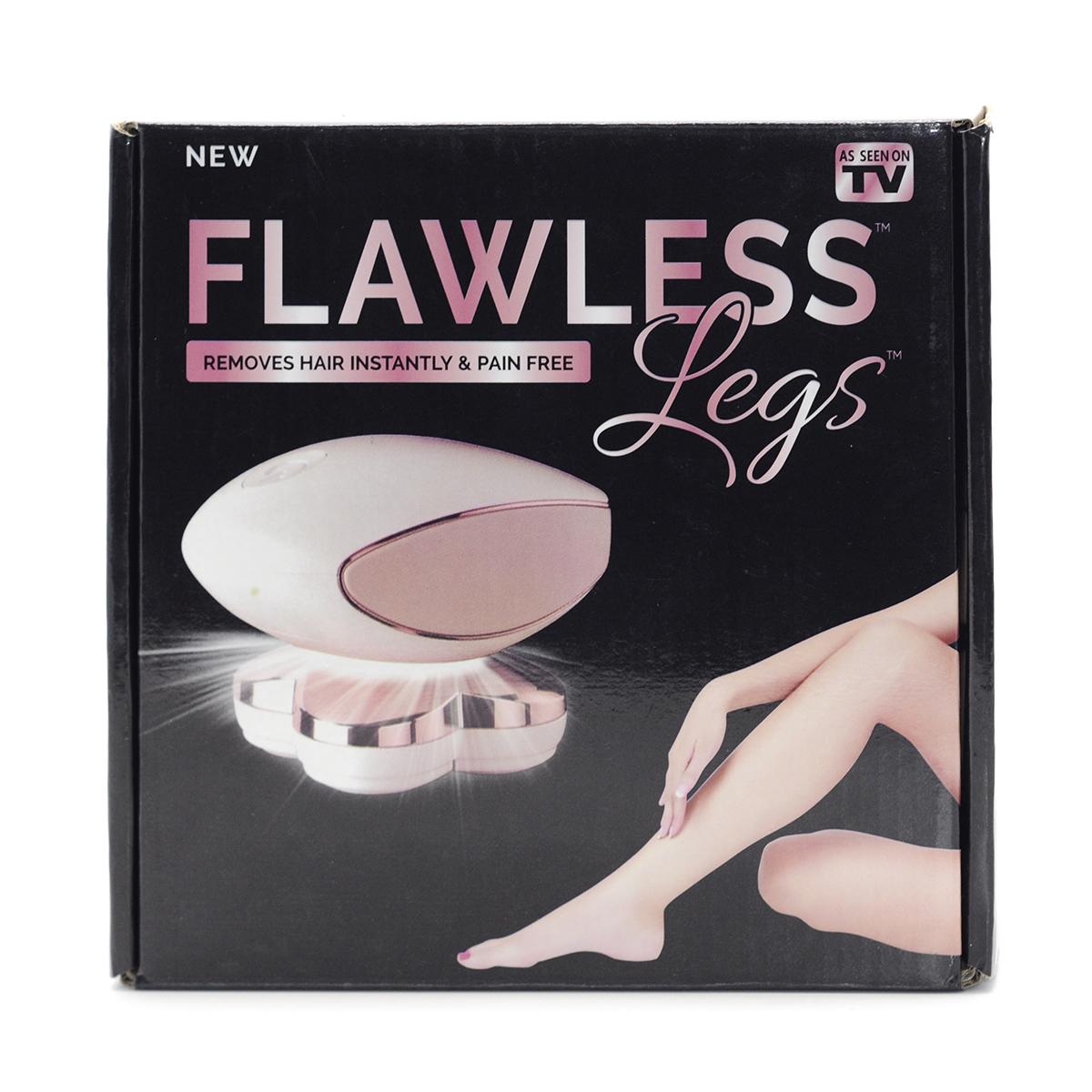 Flawless Legs Removedor de Vello y Suaviza la Piel