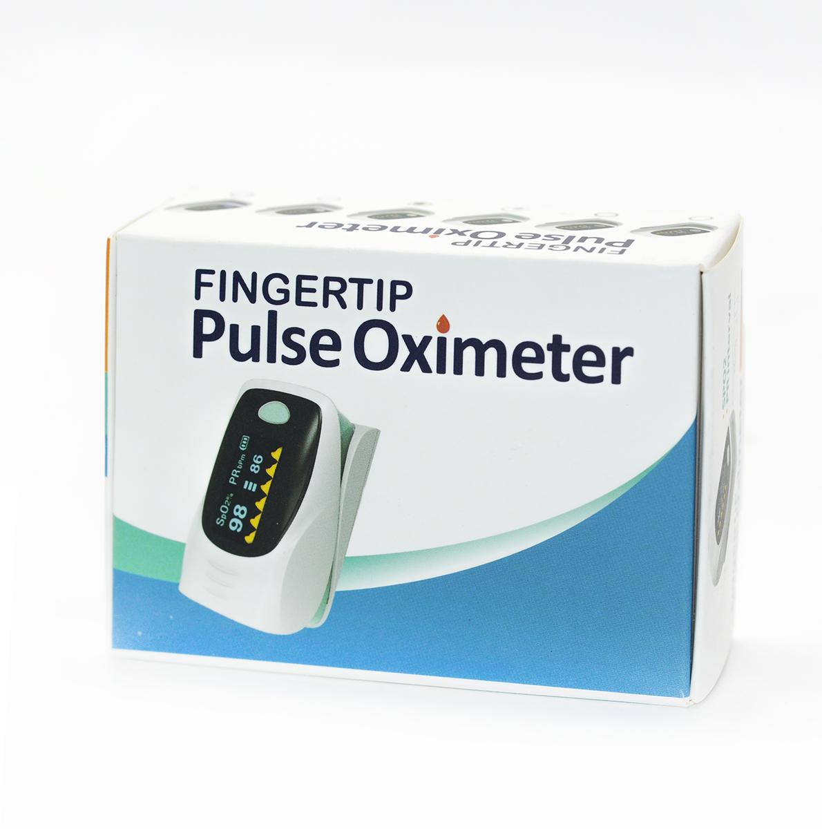 Fingertip Pulse Oximeter Oxímetro de pulso