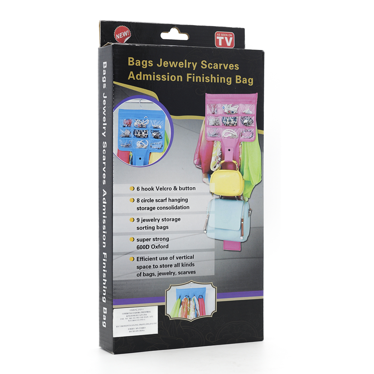 Bags Jewerly Compartimentos Organizador para Joyas Colgante