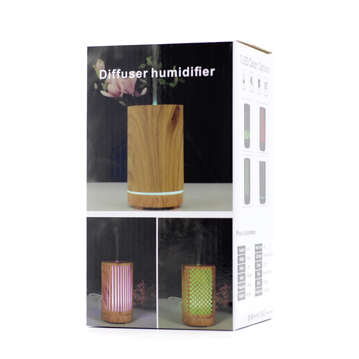 Difusor de Aromaterapia 7 Colores LED
