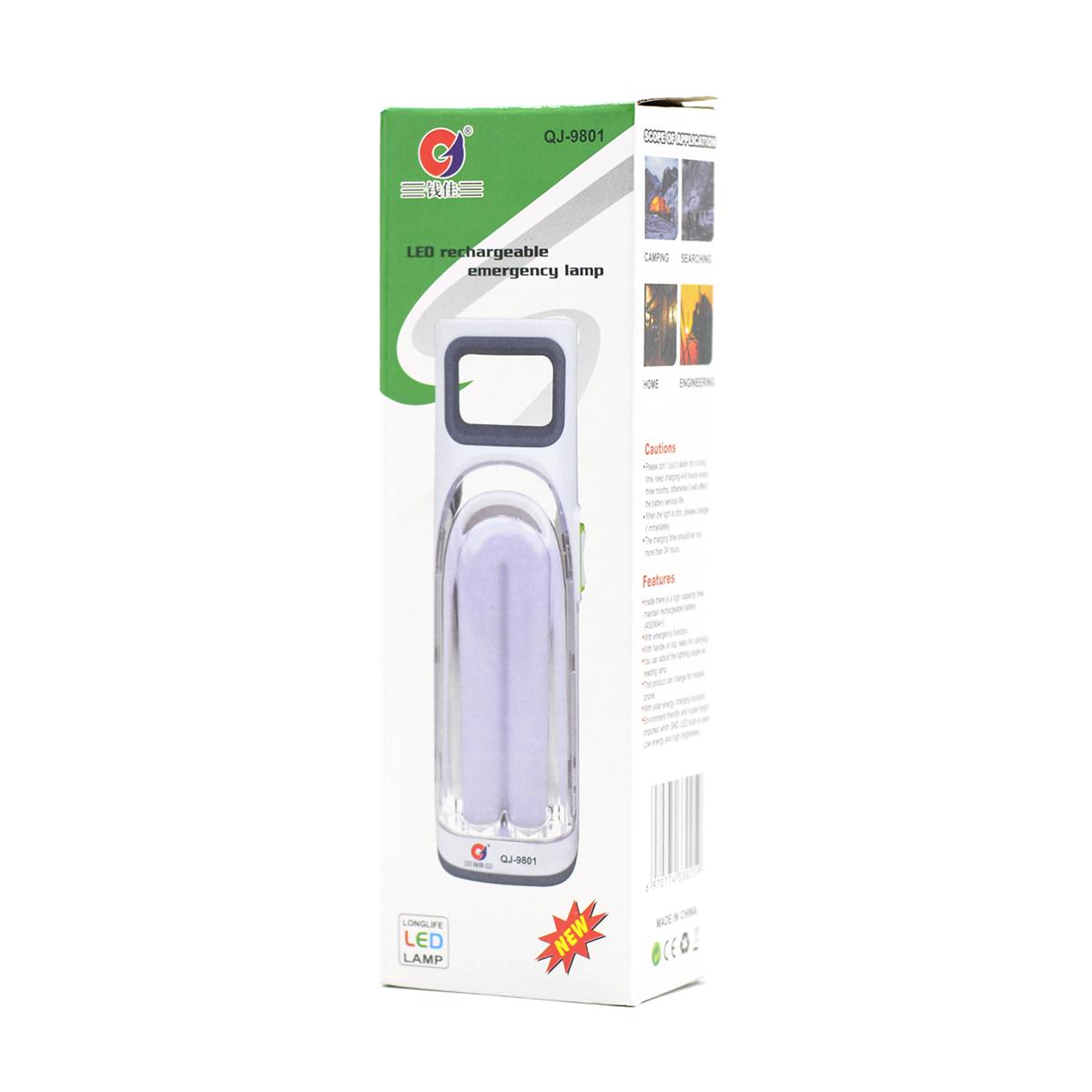 Lámpara LED Recargable de Emergencia