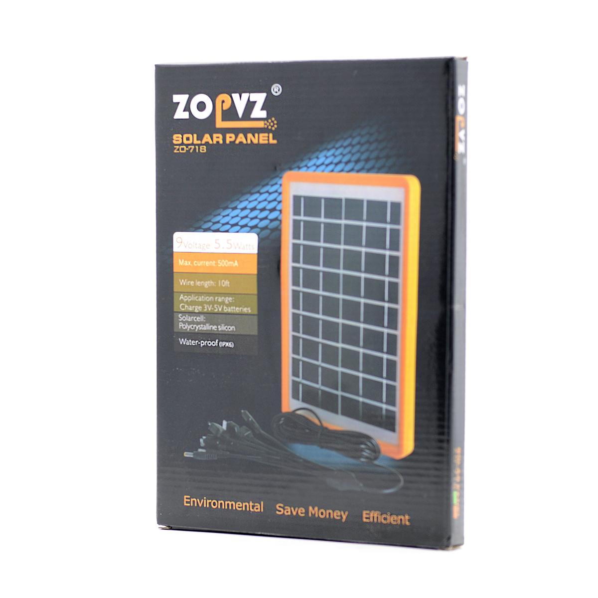 Panel Solar Zopvz 5.5W