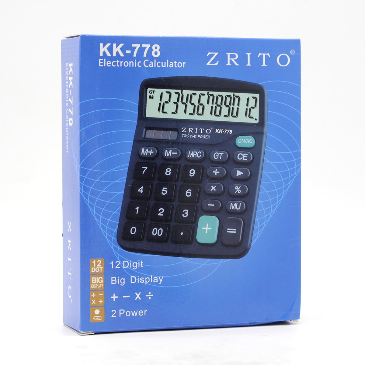 Calculadora Electrónica Zrito KK-778