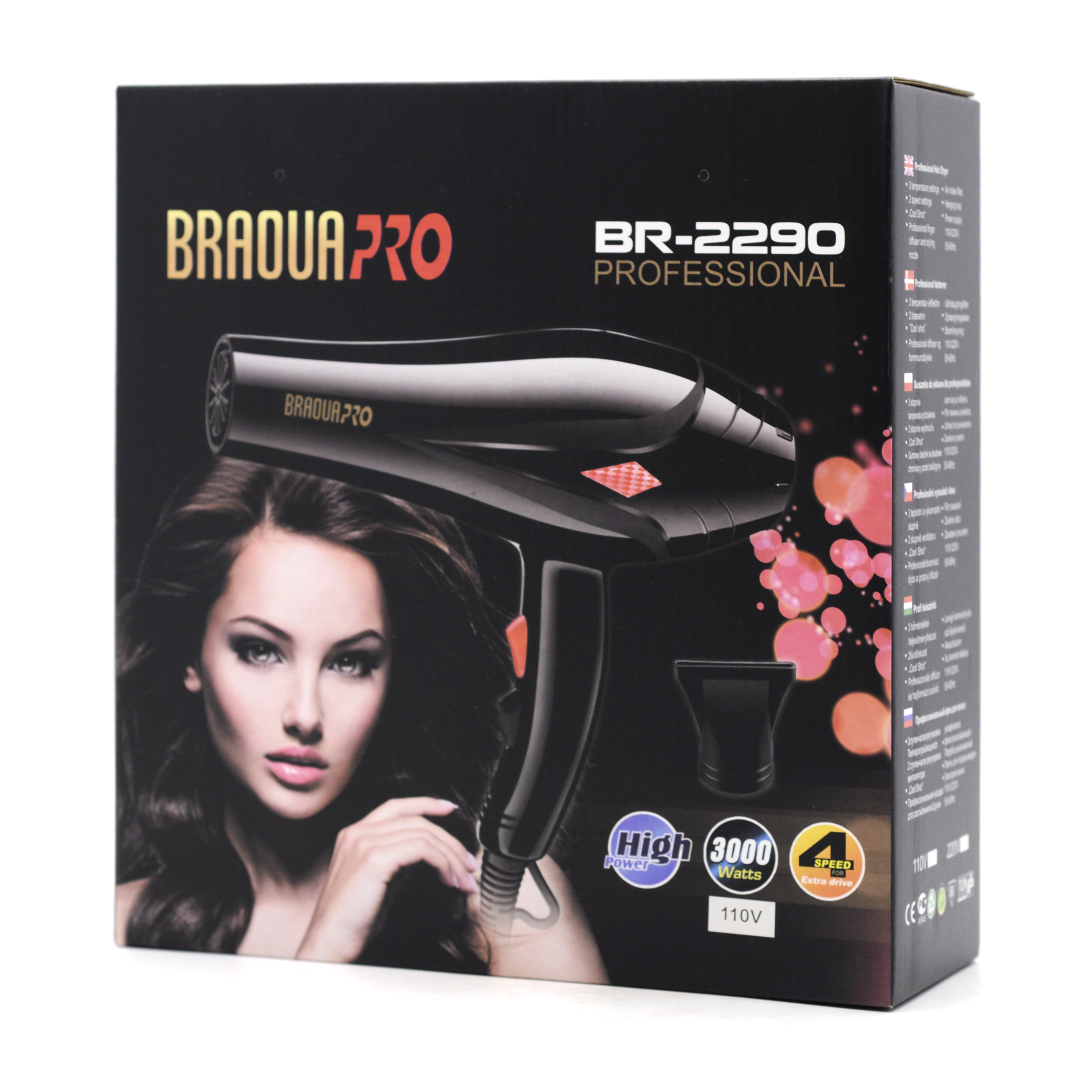 Secador Profesional Braoua PRO BR-2290